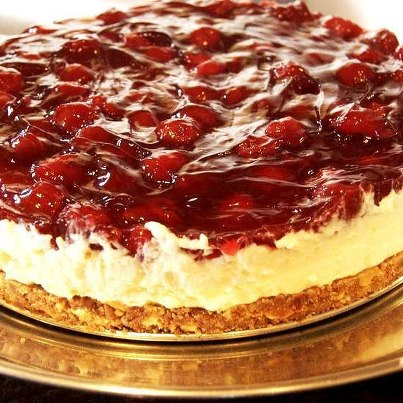 کیک آلبالویی