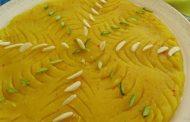 حلوا ارد برنج با دستور کامل تهیه به همراه فیلم
