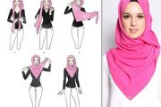 مدل بستن روسری با حجاب تصویری و جدید