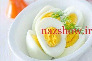 خواص تخم مرغ آب پز 1