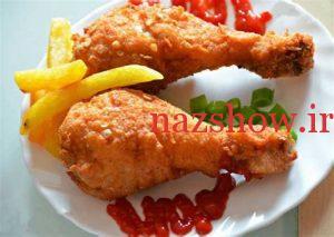 طرز تهیه مرغ سوخاری در فر