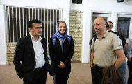 ناظر فیفا در ورزشگاه آزادی برای بازی ایران و کامبوج