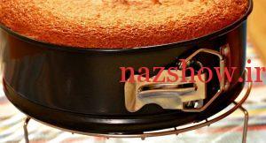 کیک پف دار طرز تهیه