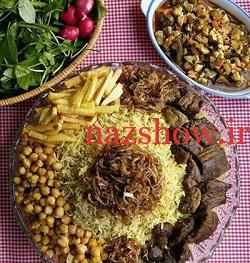 غذای جدید با گوشت از جنوب ایران