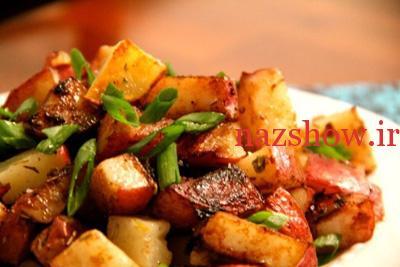 غذای ساده و سریع با سیب زمینی