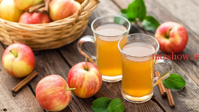 تهیه شربت سیب