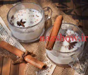 تهیه نوشیدنی خوشمزه زمستانی با شیر